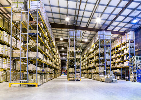 LED Lighting for Warehouses and Logistics Facilities